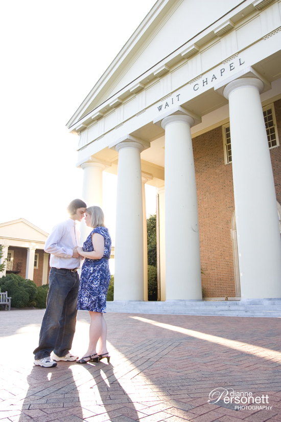 Wake Forest Engagement photos