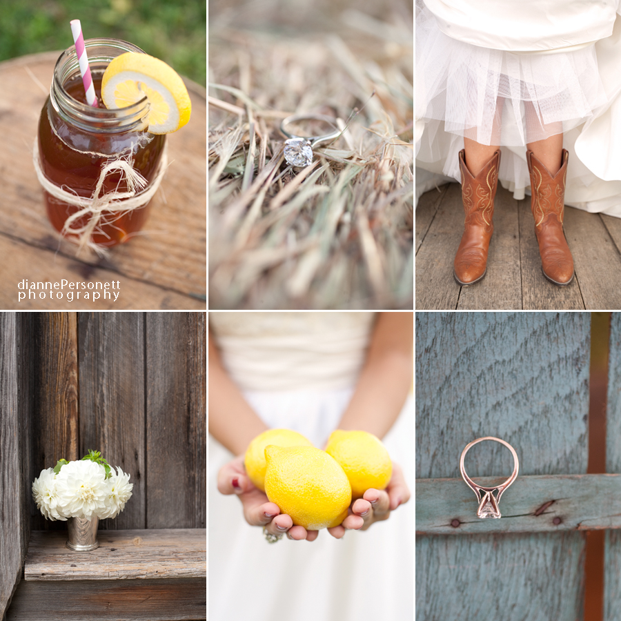 southern styled bridal session