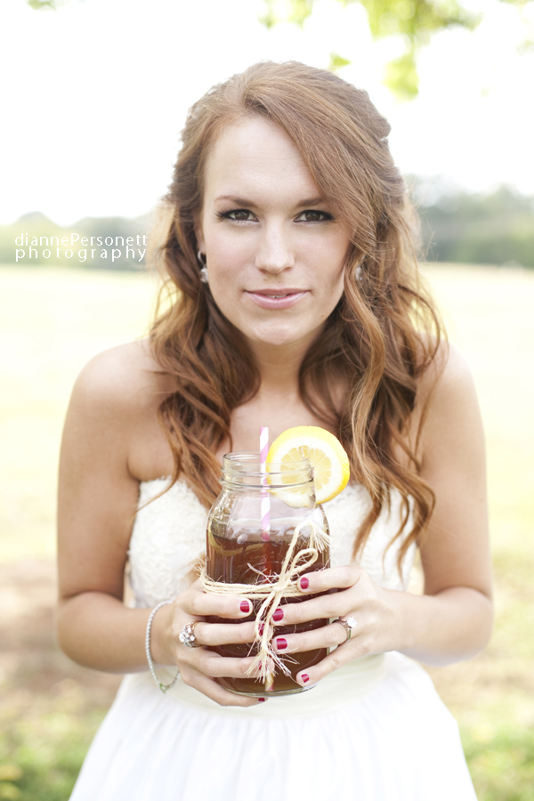 southern styled bridal photos