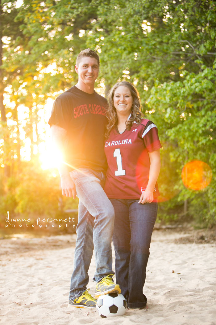 jetton park engagement photos