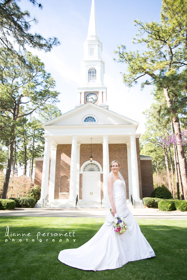 THe Village Chapel Pinehurst NC weddings