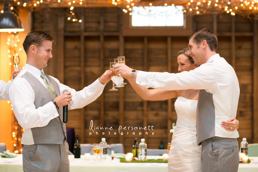 Wedding at The Fair Barn Pinehurst