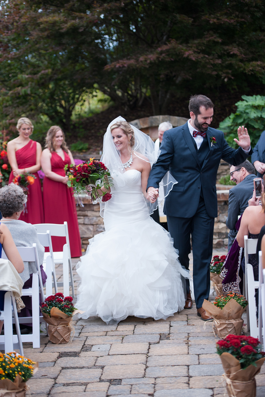 the cliffs at walnut cove asheville wedding photos